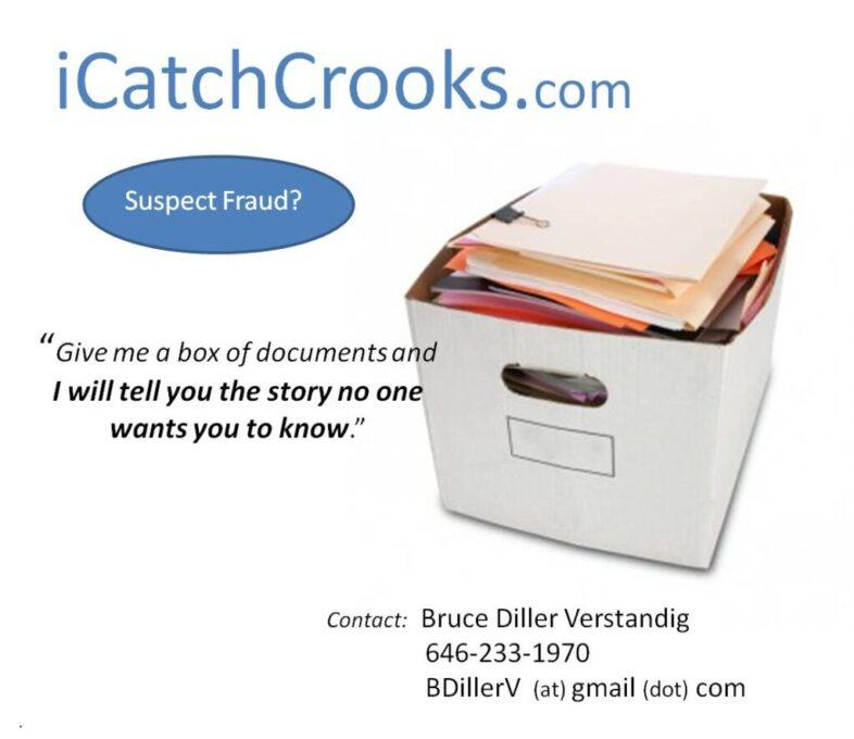 iCatchCrooks com Bruce Diller Verstandig